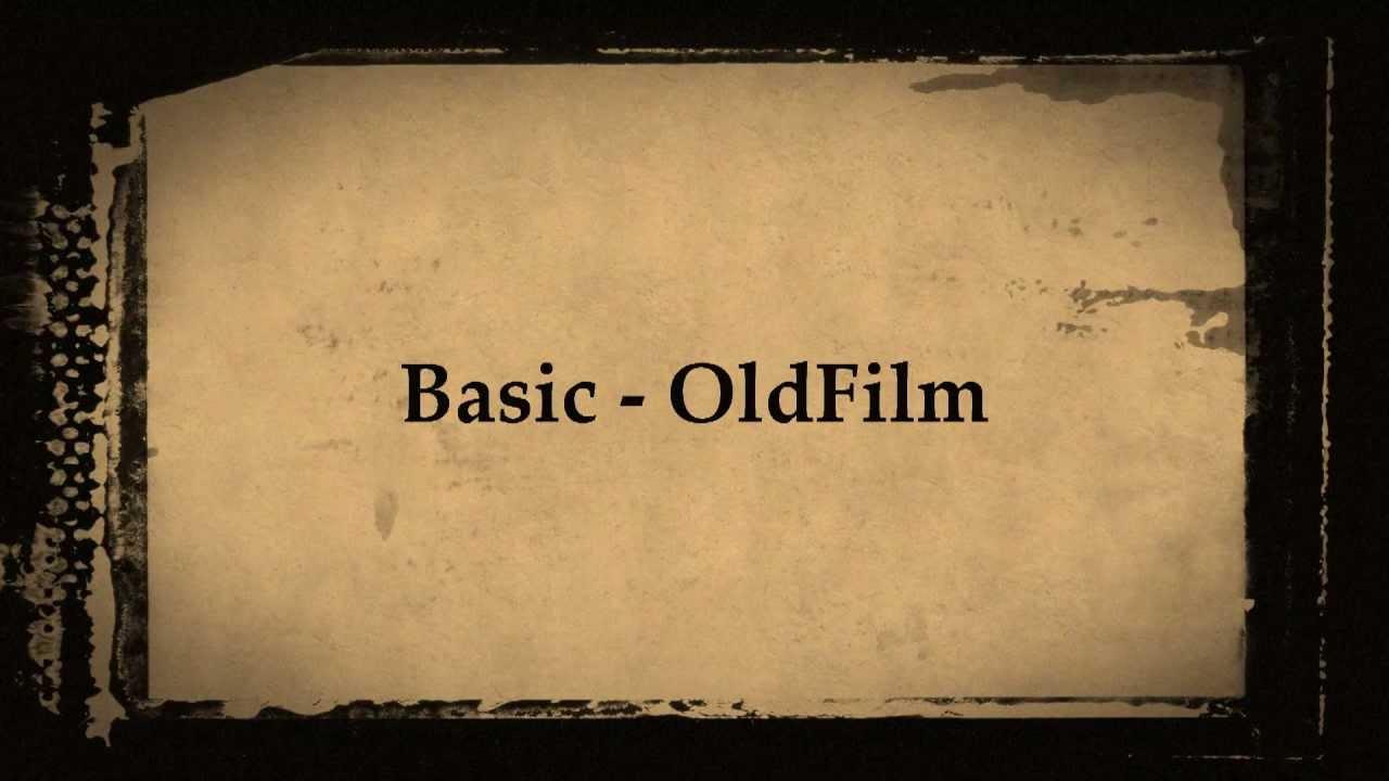 Diashow Alter Film Fotos auf DVD Vorlage Nero Video Vision Kwik BD ...
