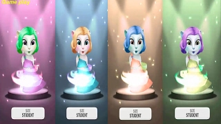 Colors Reaction Compilation My Talking Angela Great Makeover Funny Videos