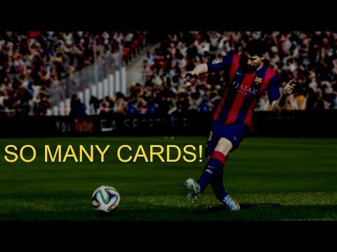 """SO MANY CARDS!!"" - FIFA 15 Game ft. Sean [FC Barcelona v Atletico Madrid]"