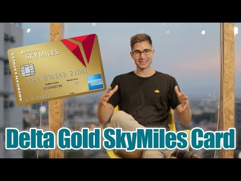 Delta Gold SkyMiles By American Express - Credit Card Review