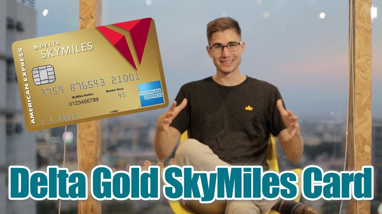 Download Delta Gold SkyMiles by American Express - Honest Credit Card Review!✅