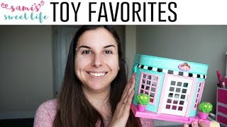 Preschooler Faves | My 3 Year Old Girl's Favorite Toys