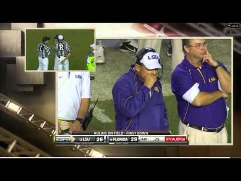 LSU Beats UF with Fake Field Goal 2010
