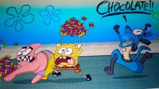 Lucario vs Spongebob Chocolate