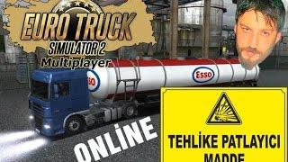 Euro Truck Simulator 2 Türkçe Online Multiplayer | Kimyasal Kardeşler
