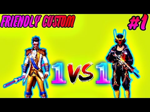 1vs1 Friendly Custom Part1 Pro Vs Pro Free Fire Battleground Youtube