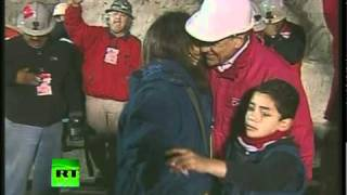 Chile Miners Rescue Video: Joy as capsule raises trapped men to surface