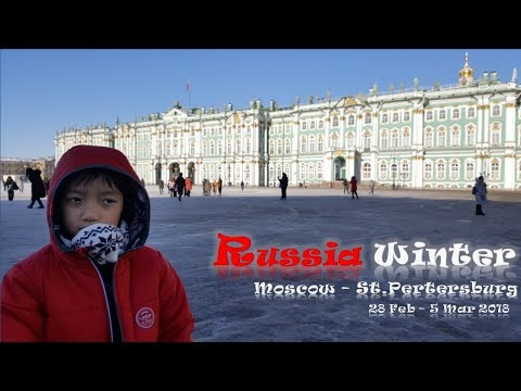 Russia Winter 2018 Moscow-St.Petersburg