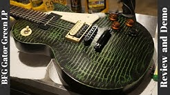 2011 Gibson Les Paul BFG Gator Green Demo | The Coolest Gibson!
