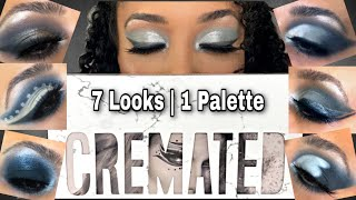 7 Looks One Palette | Cremated Palette Jeffree Star Cosmetics | Cremated Palette GIVEAWAY