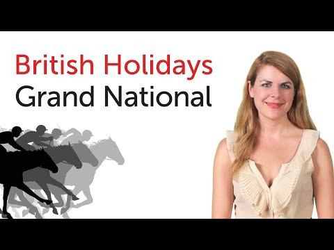 British English Holidays - Grand National