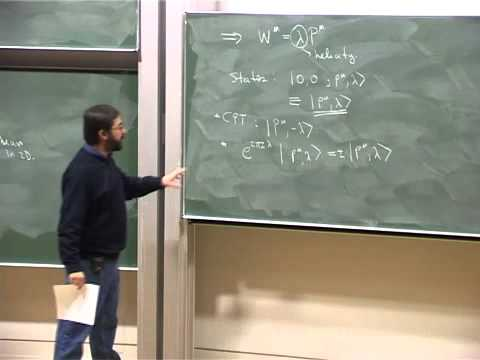 Lec 05 - Supersymmetry | University of Cambridge