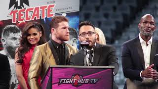 canelo this is one of the best days in my life after beating ggg