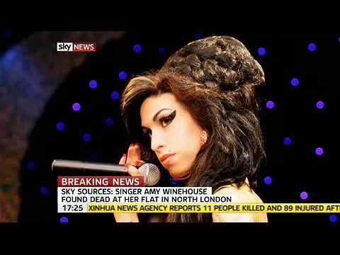 Amy Winehouse Dead Body