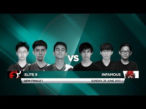 Infamous Vs Elite 8 • Vainglory 8 • Southeast Asia • Summer Split 1, Week 1, Semi Final One