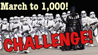 The March To 1,000 Challenge Video!  For Some Great Gold And Silver Prizes!