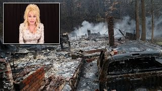 Dolly Parton Will Donate $1,000 Per Month To Families Left Homeless By Wildfires