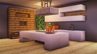 Minecraft: How to Build a Modern Working Kitchen YouTube