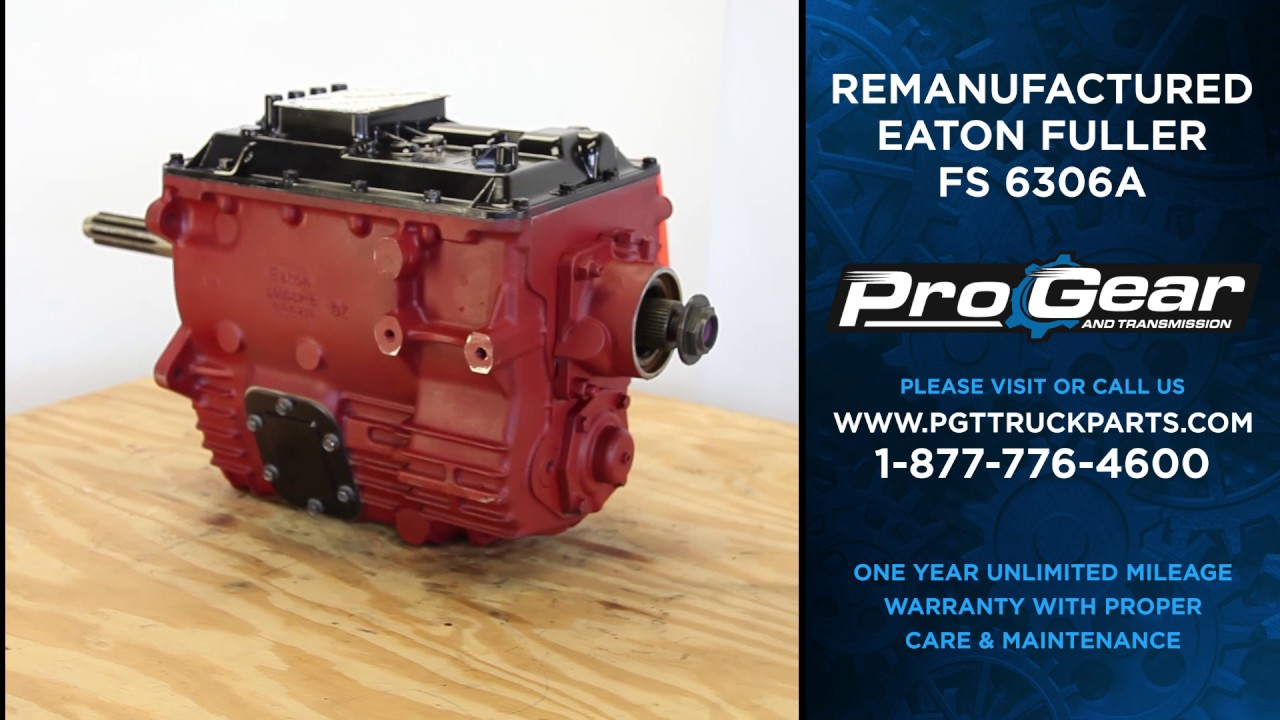 Eaton Fuller 6 Speed Transmission All Eaton Transmissions In