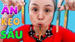 Trò Chơi Ăn Kẹo Sâu ❤ KN CHENO Chị Hằng