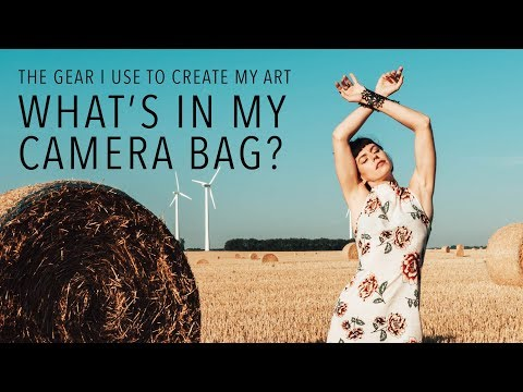 The Only Gear You'll Need To Become A Successful Photographer Or YouTuber - WHAT'S IN MY CAMERA BAG