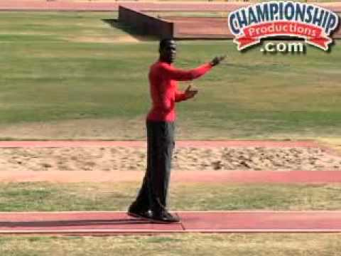 bio mechanic long jump Biomechanical and physics applied to the track and field event of high jump.