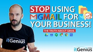 Using Gmail for Busİness is a BAD IDEA!!! Don't do this!