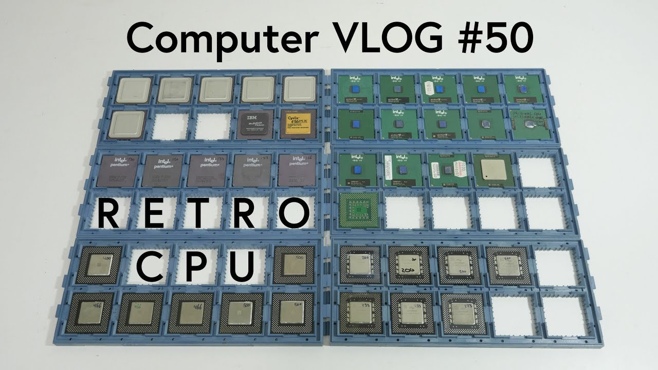 How to Store Your Retro CPU Collection, Computer VLOG #50