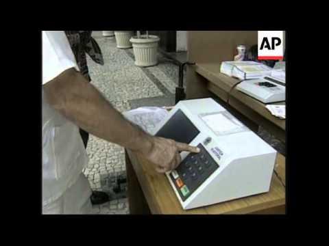 BRAZIL: RIO: PRESIDENTIAL ELECTION CAMPAIGN