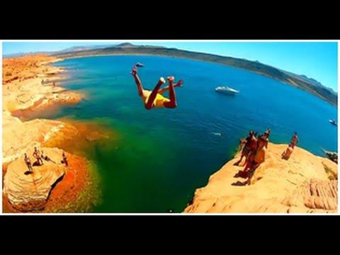 Things to do in St George Utah | Sand Hollow Utah | Cliff Jumping Utah