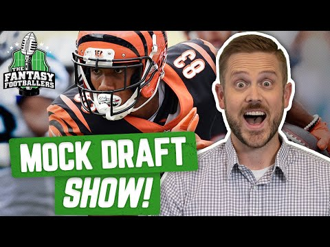 Fantasy Football 2019 - Mock Draft Show + Fantasy Football Tanking - Ep. #745