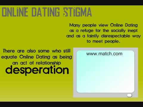 stigma mot online dating