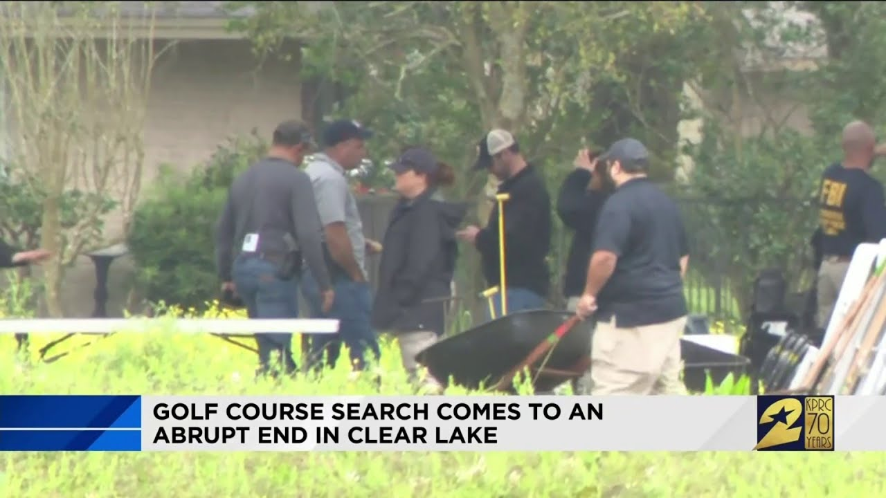 Search for bodies in Clear Lake