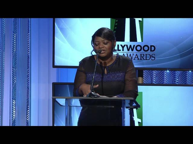 Octavia Spencer Presents Hollywood Actress Award - HFA 2013 Travel Video