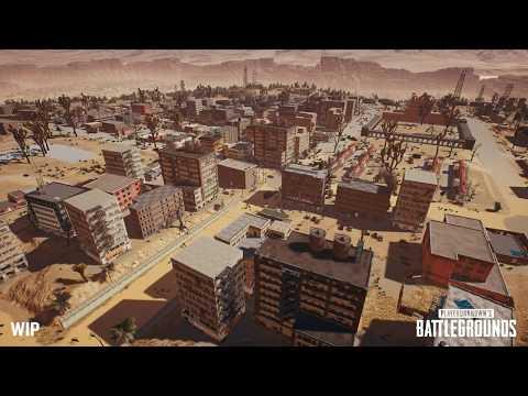 PUBG NEW DESERT MAP GAMESCOM 2017 YouTube