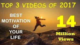 Gambar cover TOP 3 VIDEOS OF 2017   बेस्ट मोटिवेशनल वीडियो   Gurukul Gyan