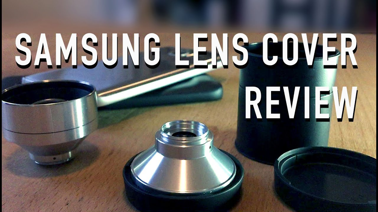 premium selection 14f90 e68b7 Samsung Galaxy S7 Lens Cover Review - Smartphone Linsen Weitwinkel und  Porträt-Linse