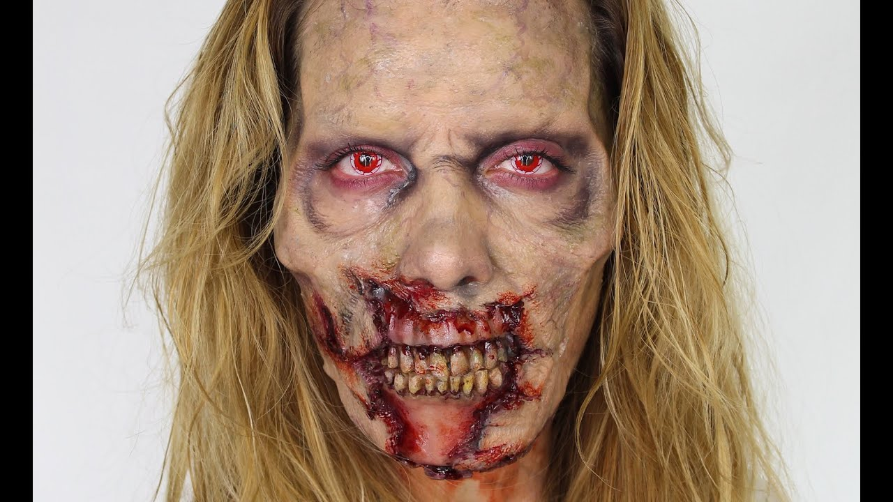 fear the walking dead inspired zombie makeup tutorial