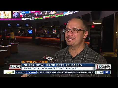 Super Bowl LIV Prop Bets Available At Las Vegas Sportsbooks