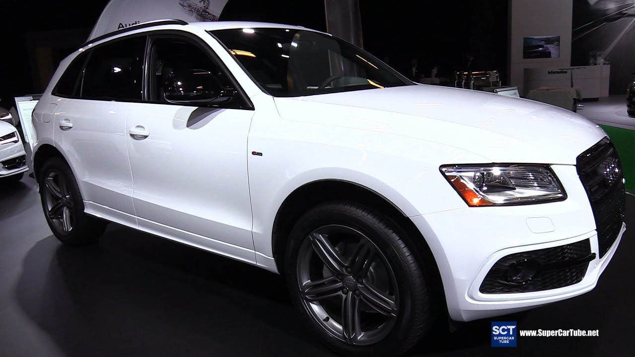 2016 audi q5 2 0 tfsi quattro exterior and interior walkaround 2016 montreal auto show youtube. Black Bedroom Furniture Sets. Home Design Ideas