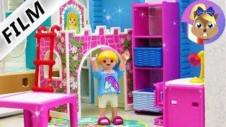 Film Playmobil en français | La nouvelle chambre d'HANNAH | Gros chantier dans la villa