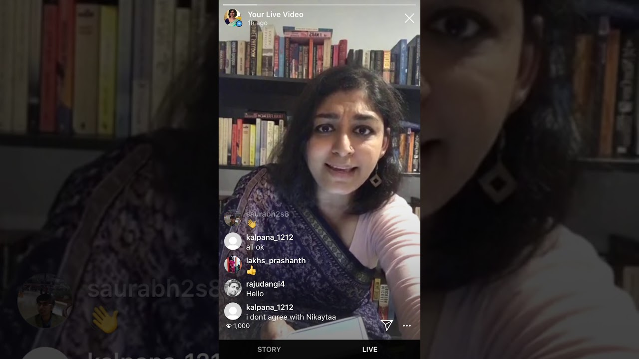 Download An Afternoon of Sarees and Stories on Instagram Live @ 26 April 2020 PART 1