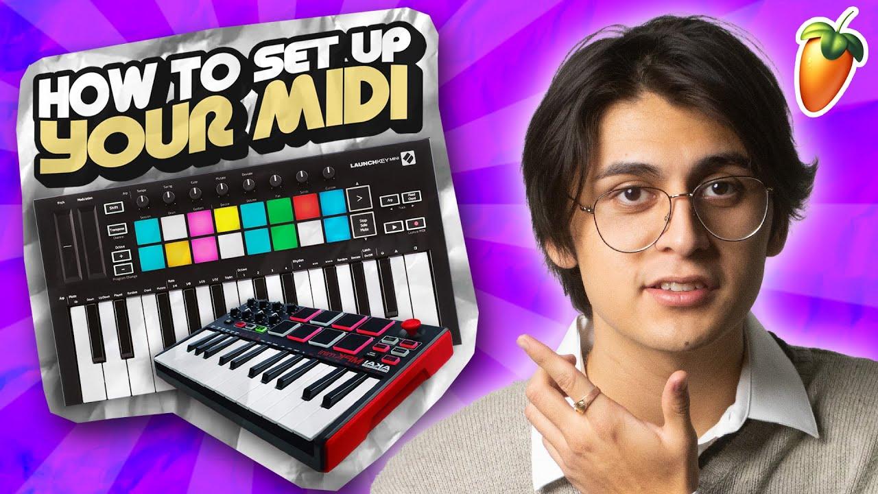 How To Set Up MIDI on FL Studio 20 (2018)