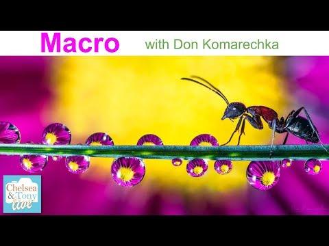 MACRO Photography with Don Komarechka (T&C LIVE)