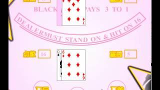 21/ Black jack card game demo,21点扑克