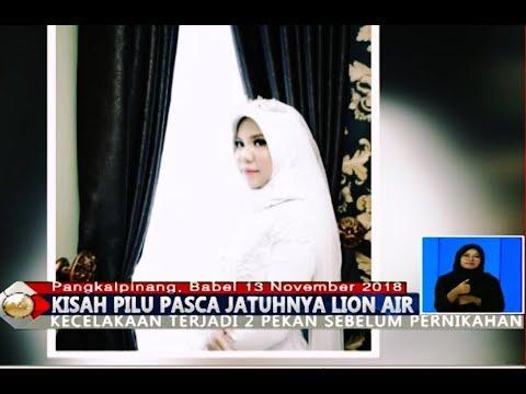 PILU! Calon Suami Jadi Korban Lion Air, Intan Tetap Pakai Baju Akad Pernikahannya - BIS 14/11