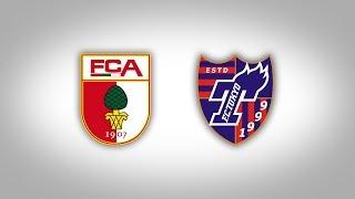 Im Rahmen der Vorbereitung trägt der FC Augsburg am Dienstag, 18. J...