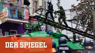 """Besetztes Haus: Polizei räumt """"Liebig 34"""""""