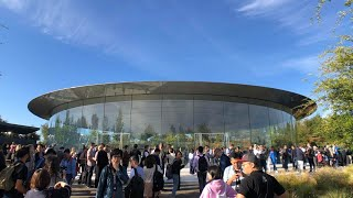 Steve Jobs Theater Visit + New iPhones Hands-On