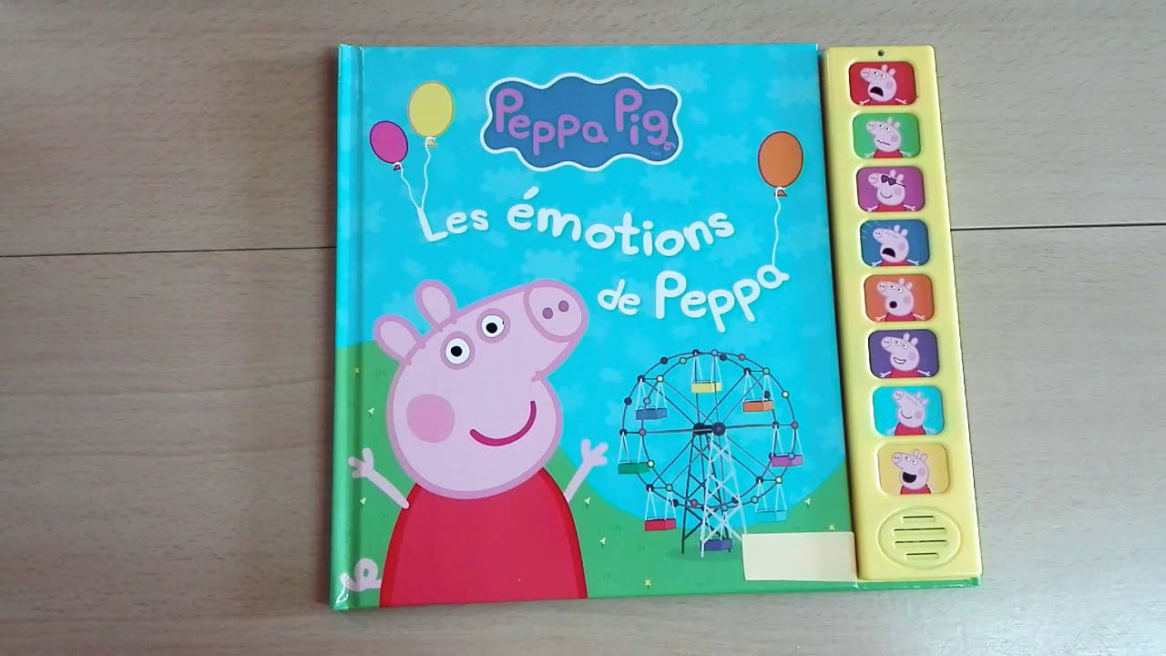 Peppa Pig 🐷 / Les émotions 😭 😘😟de Peppa 🐖